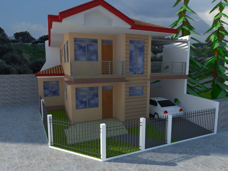 Structural Design Residential House Interior