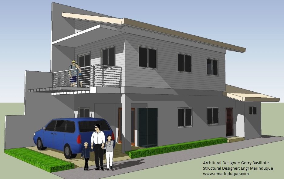 Proposed 2 Storey Residential Building In Toledo City